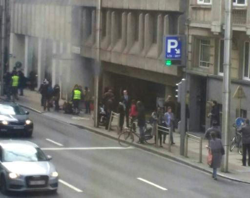 At least 21 dead in Brussels blasts: firefighters
