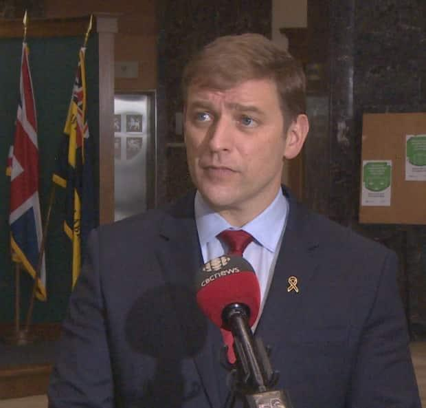 Newfoundland and Labrador Premier Andrew Furey says a provincial budget will be tabled in June.  (Terry Roberts/CBC - image credit)