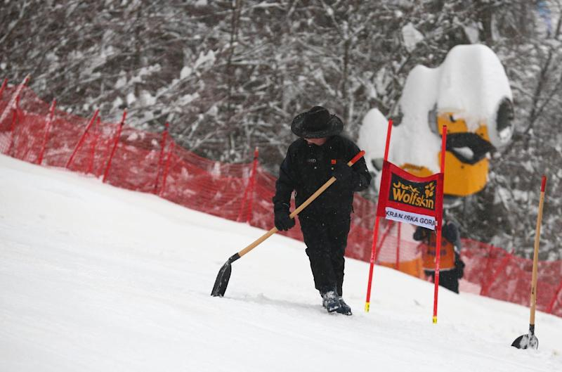 Women's WCup GS canceled because of rain, fog