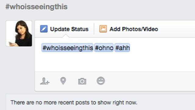 Facebook Hashtags: Time to Go Over Those Privacy Settings Again
