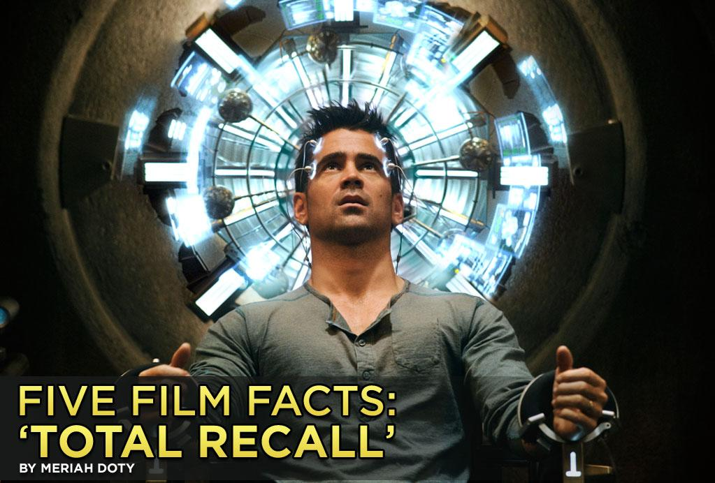 "<b>This Is Not A Remake</b><br>Everyone's calling it a remake of the 1990 film, but really, the ""<a href=""http://movies.yahoo.com/movie/total-recall-2012/"">Total Recall</a>"" in theaters this weekend is a whole new thing. Both films are based on the short story ""We Can Remember It for You Wholesale"" by Philip K. Dick -- but the updated Len Wiseman version is much more serious in tone.<br><br>Click through to explore key differences as well as other mind-boggling facts about the new ""Total Recall."""