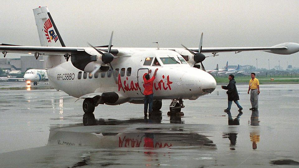 An L-410 passenger plane similar to this one is reported to have crashed in Siberia. Source: AP, file