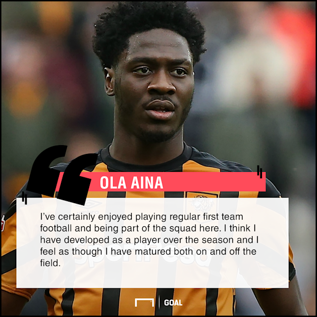 The Nigeria international's temporary stay with the Tigers will come to an end on Sunday and the defender is delighted with the time spent at the club