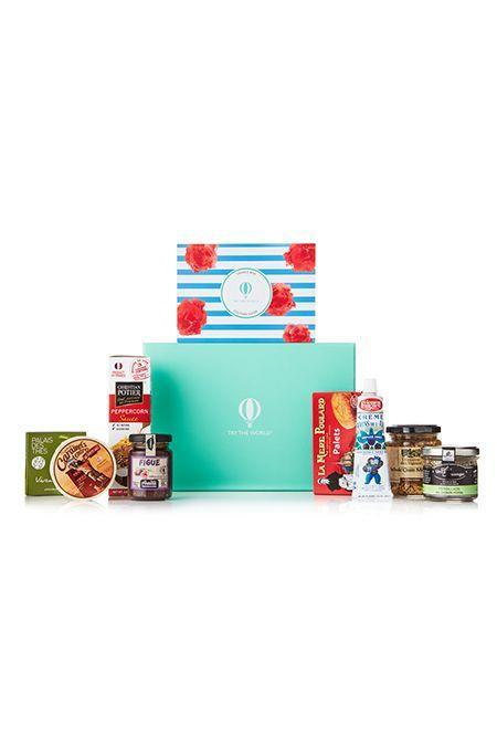 """<p>This is another global food subscription box, but it's more than just snacks (though it does have those). Try the World also includes ingredients to cook with, gourmet items and drinks. </p><p><strong>Price: </strong>$49/box</p><p><a class=""""link rapid-noclick-resp"""" href=""""https://go.redirectingat.com?id=74968X1596630&url=https%3A%2F%2Fwww.trytheworld.com%2F&sref=https%3A%2F%2Fwww.goodhousekeeping.com%2Fholidays%2Fmothers-day%2Fg31992924%2Fbest-subscription-boxes-for-moms%2F"""" rel=""""nofollow noopener"""" target=""""_blank"""" data-ylk=""""slk:BUY NOW"""">BUY NOW</a></p>"""