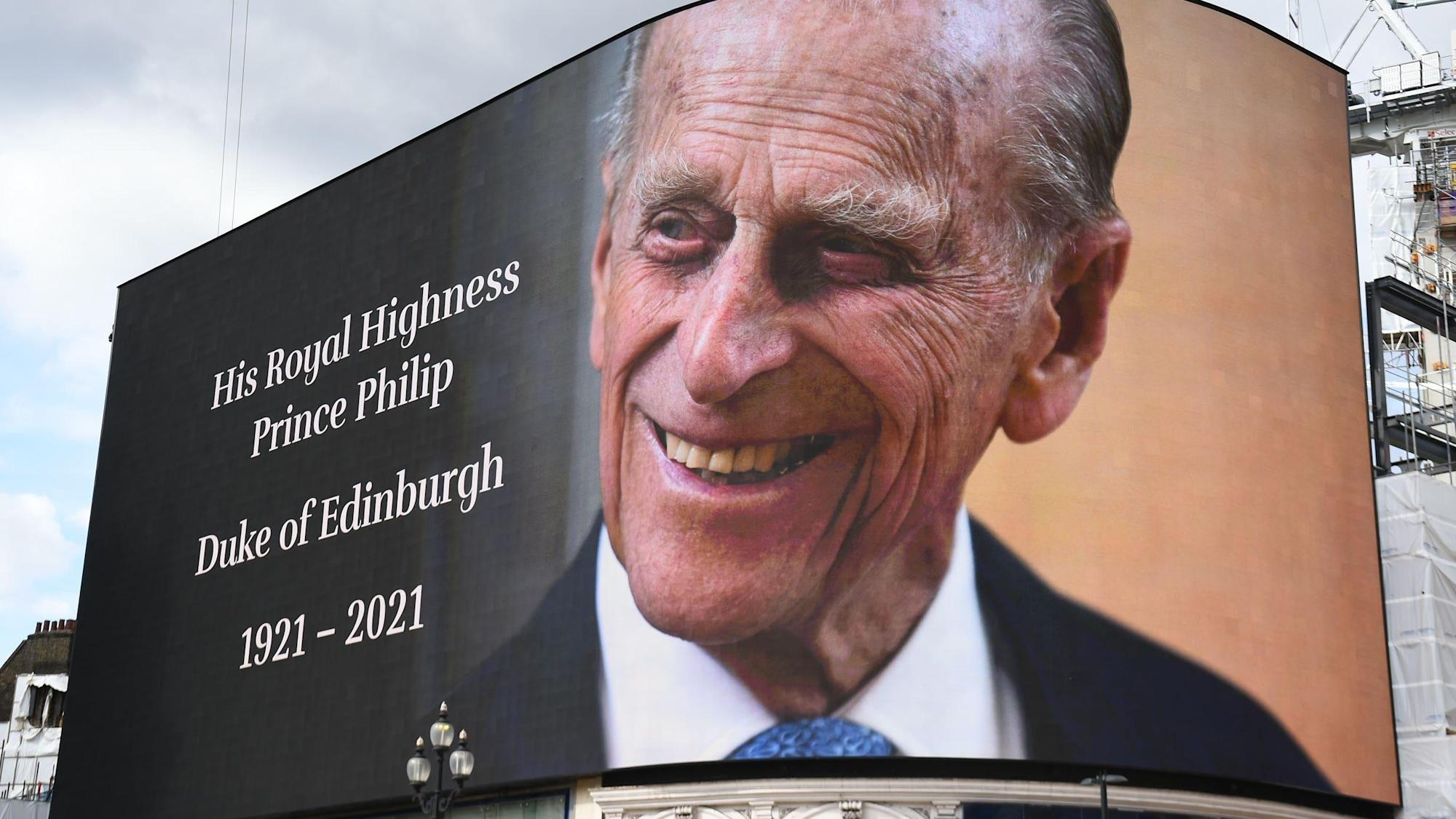 TV channels line up evening of tributes following death of Duke of Edinburgh