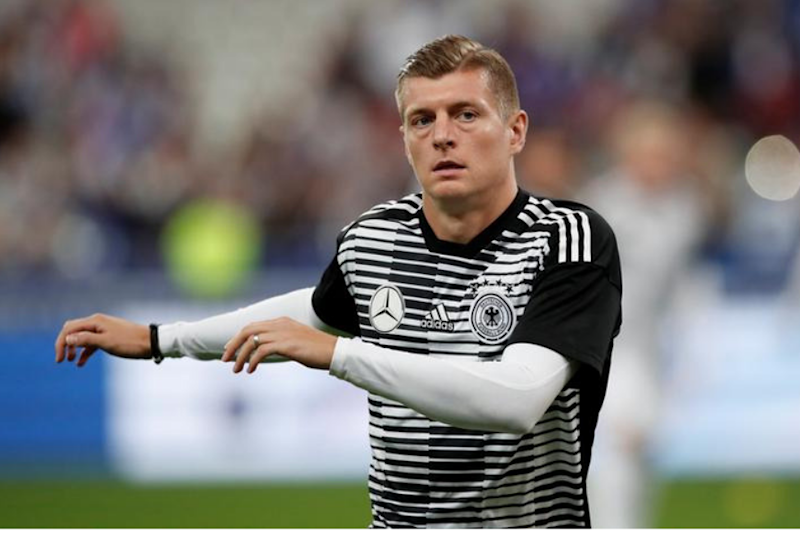 Injured Toni Kroos to Miss Germany's Next Two Euro 2020 Qualifiers