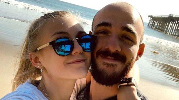 PHOTO: Gabby Petito is pictured with her boyfriend, Brian Laundrie, in a photo posted to Petito's Instagram account on March 17, 2020. (Courtesy Nichole Schmidt and Joseph Petito)