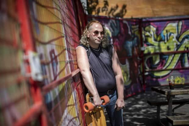 Kevin King, a founding member of OPS, is pictured in Vancouver on Tuesday.