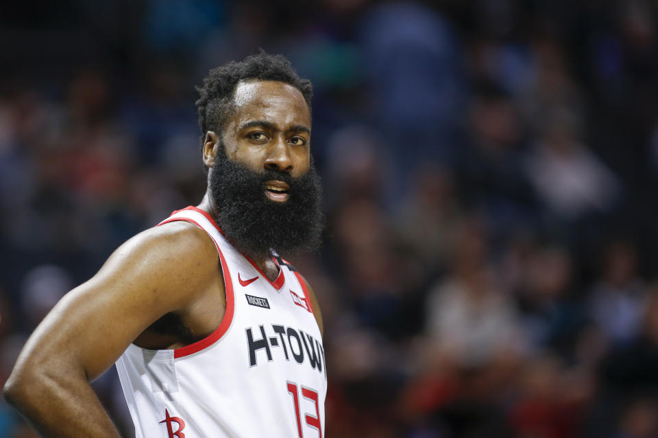 While surprising, Harden's explanation makes more sense than the alternative. (AP Photo/Nell Redmond)