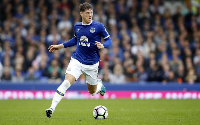 <span>Barkley in action for Everton against Leicester on Sunday</span> <span>Credit: McNulty/JMP/REX/Shutterstock </span>