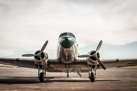 You can still board a DC-3 - Credit: getty