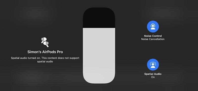 Apple Spatial Audio for AirPods Pro
