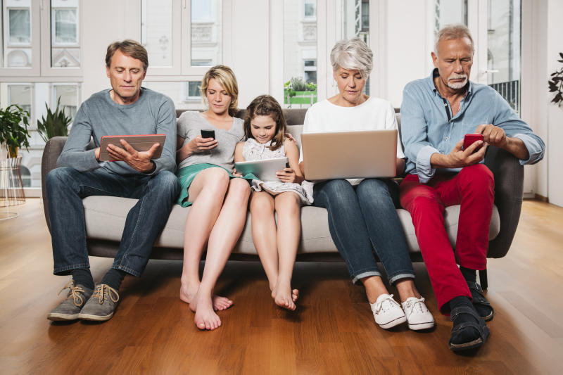 Staying safe is a family affair with LastPass Families. (Photo: Getty)