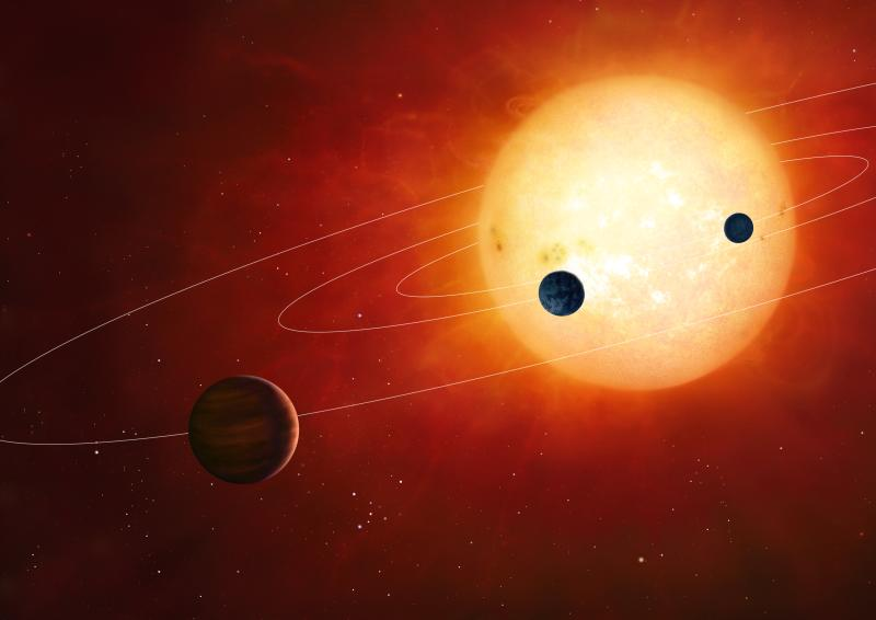Three new planets found outside our solar system orbiting ...
