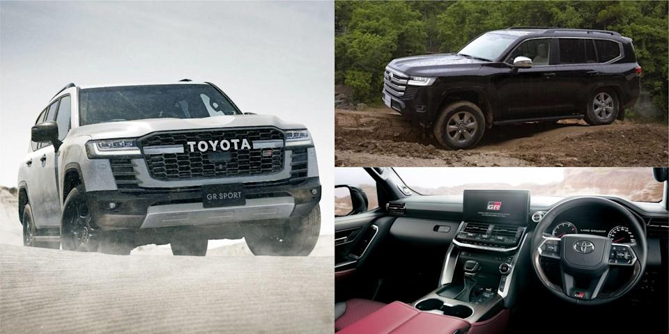 """<p><a href=""""https://www.caranddriver.com/toyota"""" rel=""""nofollow noopener"""" target=""""_blank"""" data-ylk=""""slk:Toyota"""" class=""""link rapid-noclick-resp"""">Toyota</a> will end the <a href=""""https://www.caranddriver.com/toyota/land-cruiser"""" rel=""""nofollow noopener"""" target=""""_blank"""" data-ylk=""""slk:Land Cruiser"""" class=""""link rapid-noclick-resp"""">Land Cruiser</a>'s 60-plus-year run in the United States after the 2021 model year. But there is a <a href=""""https://www.caranddriver.com/news/a36676044/toyota-land-cruiser-300-series-revealed/"""" rel=""""nofollow noopener"""" target=""""_blank"""" data-ylk=""""slk:new 300-series model"""" class=""""link rapid-noclick-resp"""">new 300-series model</a> that will be sold in global markets, and it's lighter, more modern, and has new engine options (one of which is expected to power the <a href=""""https://www.caranddriver.com/news/g36946030/2022-toyota-tundra-details-future/"""" rel=""""nofollow noopener"""" target=""""_blank"""" data-ylk=""""slk:new Tundra"""" class=""""link rapid-noclick-resp"""">new Tundra</a> pickup). There's also a new GR Sport model that makes us even more sad that the new one isn't coming to our shores. At least it's looking likely that we will get a version of the new Land Cruiser in the U.S. as the next-generation Lexus LX, so if that's the case, this is what we expect from the new body-on-frame SUV. </p>"""