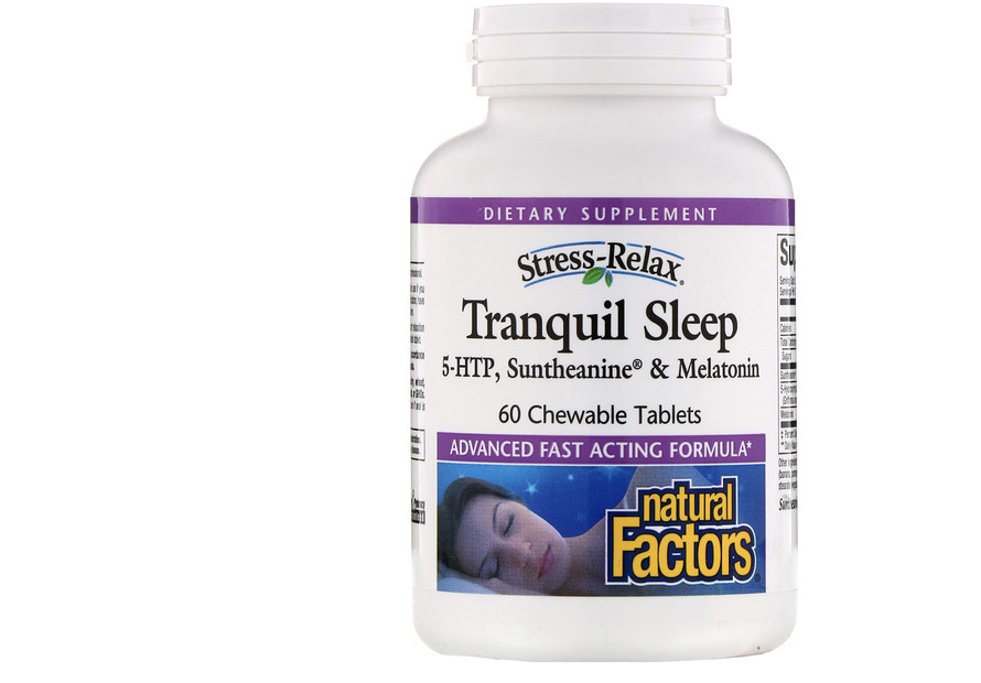 Natural Factors, Stress-Relax, Tranquil Sleep. (PHOTO: iHerb)