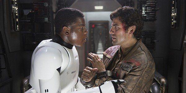Fans speculated about a same-sex relationship between Finn and Poe Dameron in 'Star Wars'. (Credit: Disney/Lucasfilm)