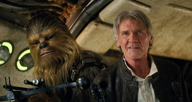 Harrison Ford inStar Wars: The Force Awakens | Lucasfilm