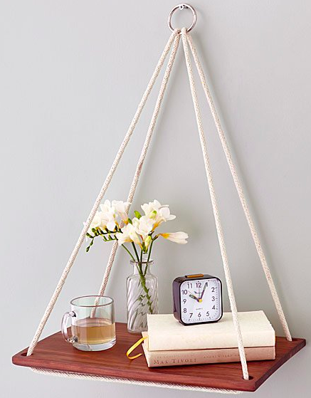 Hanging side table, S$55.30. PHOTO: Uncommon Goods