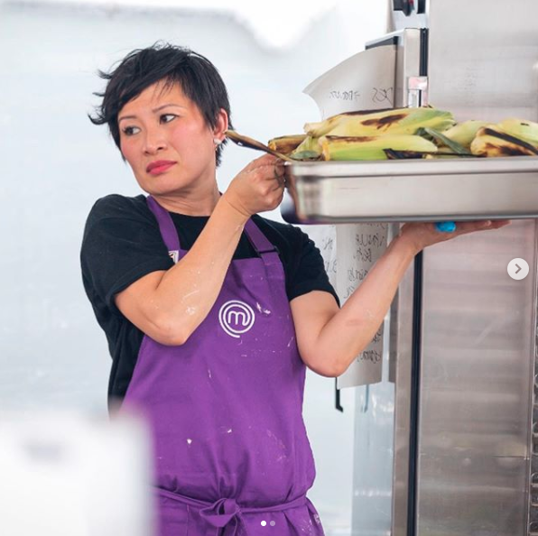 Poh has come under fire for playing with fire when it comes to the cooking deadlines. Photo: Channel 10