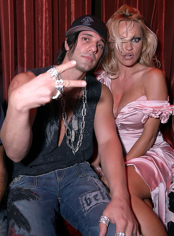 "Criss Angel worked some serious magic on the blonde bombshell when the illusionist <span style=""font-size:11.0pt; "">–</span> who was at one time friends with Anderson's ex-husband Tommy Lee <span style=""font-size:11.0pt; "">–</span> was spotted getting cozy with her in Las Vegas just days after her wedding to Rick Solomon. After the marriage went south in December 2007, Angel and Anderson went public for a few months, before that relationship also went ""poof."""
