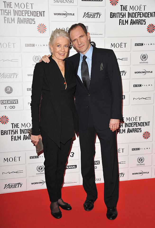 "<a href=""http://movies.yahoo.com/movie/contributor/1800014131"">Vanessa Redgrave</a> and <a href=""http://movies.yahoo.com/movie/contributor/1800019488"">Ralph Fiennes</a> at the 2011 British Independent Film Awards on December 4, 2011 in London, England."