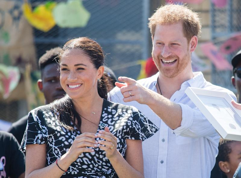 Harry and Meghan have been undertaking a packed schedule since arriving in South Africa. Photo: Getty Images