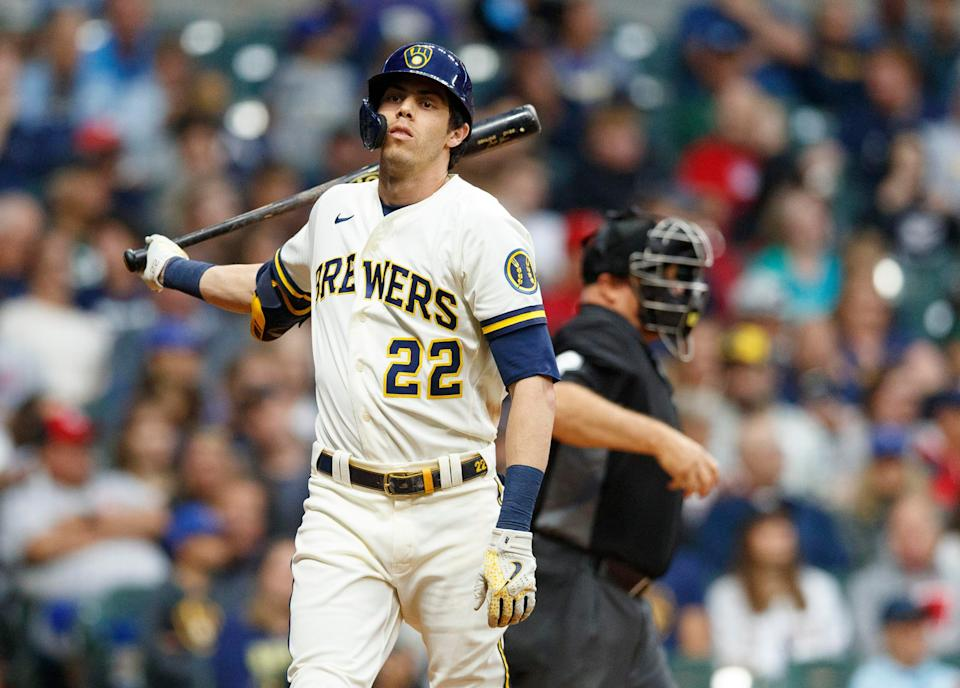 Christian Yelich has a .748 OPS in 67 games this season.
