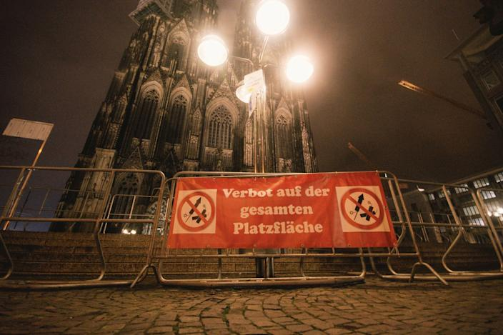 New Year's Eve 2020 Cologne Germany