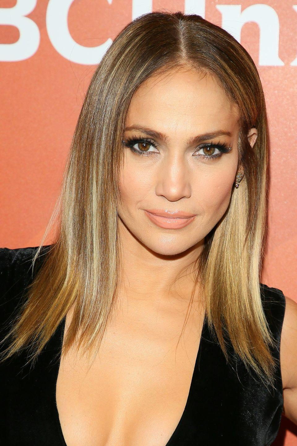 """<p><a href=""""http://www.goodhousekeeping.com/health/diet-nutrition/a43743/what-jennifer-lopez-eats-in-a-day/"""" rel=""""nofollow noopener"""" target=""""_blank"""" data-ylk=""""slk:Jennifer Lopez"""" class=""""link rapid-noclick-resp"""">Jennifer Lopez</a> has been rocking bright, beautiful highlights ever since she rocked that low-cut dress that put her on the map.</p>"""