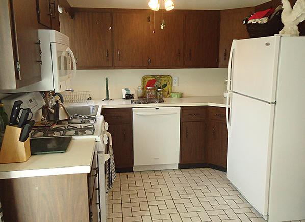 Kitchen remodeling on a budget a downsized space that is for Kitchen remodel financing
