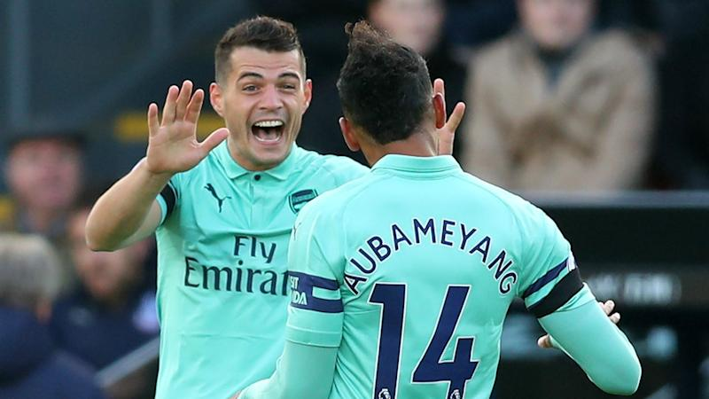The Gunners failed to secure a 12th successive victory after being held to a 2-2 derby draw by London rivals Crystal Palace at Selhurst Park