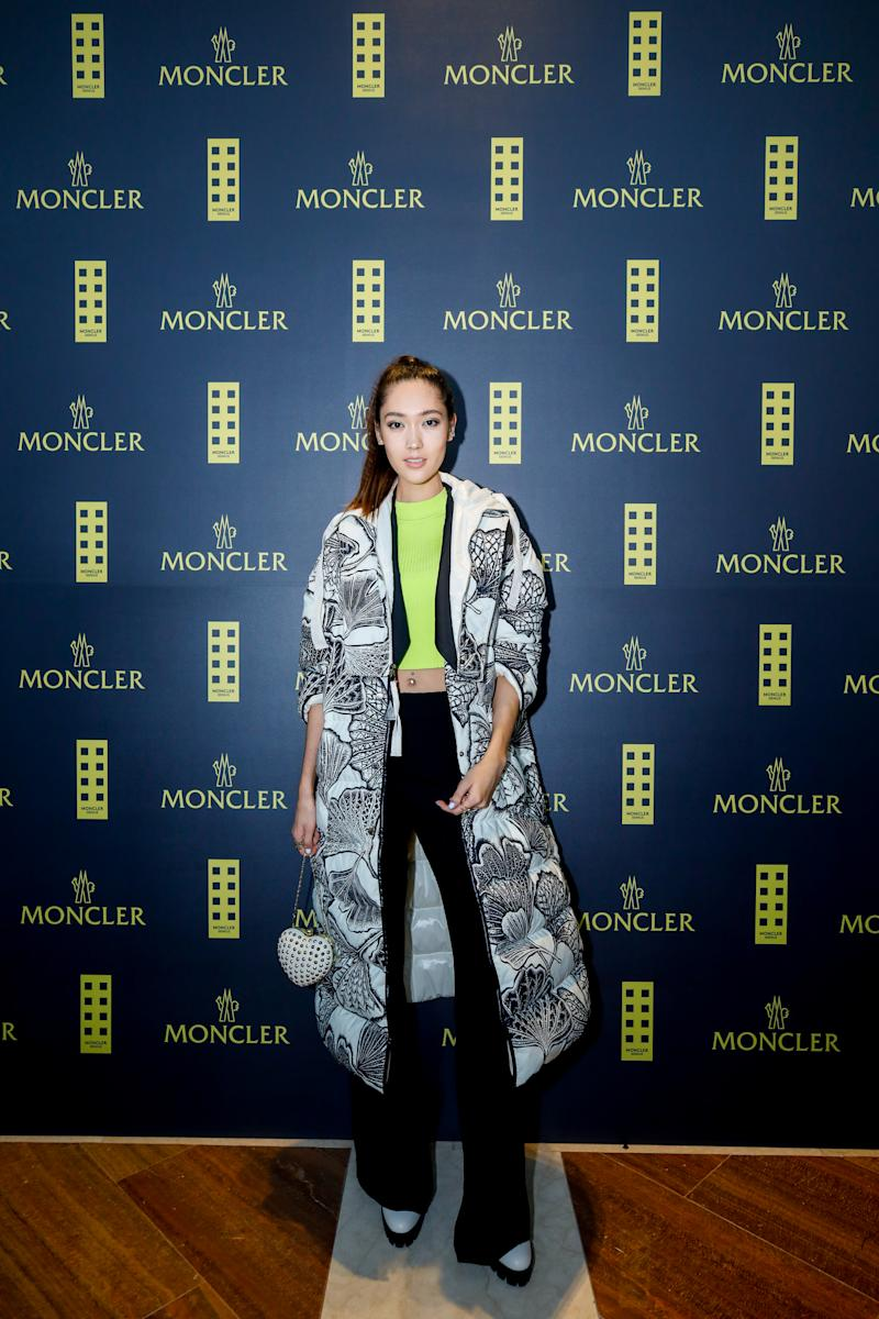 Aimee Chang Bradshaw at Moncler Launch. (PHOTO: Moncler)