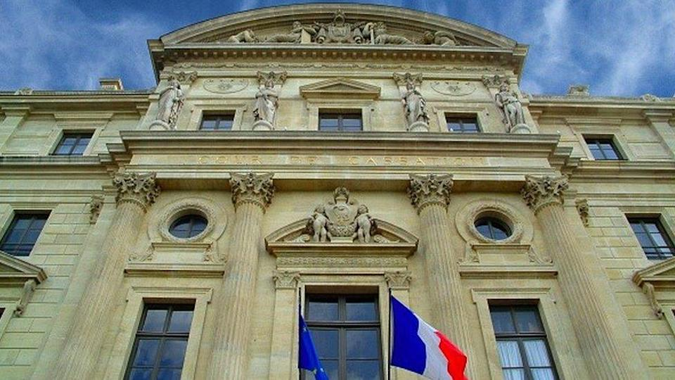 Exterior of France`s court of appeal