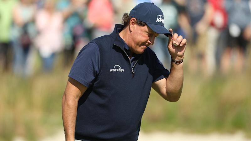 PGA out of reach, Phil's eyes set on U.S. Open