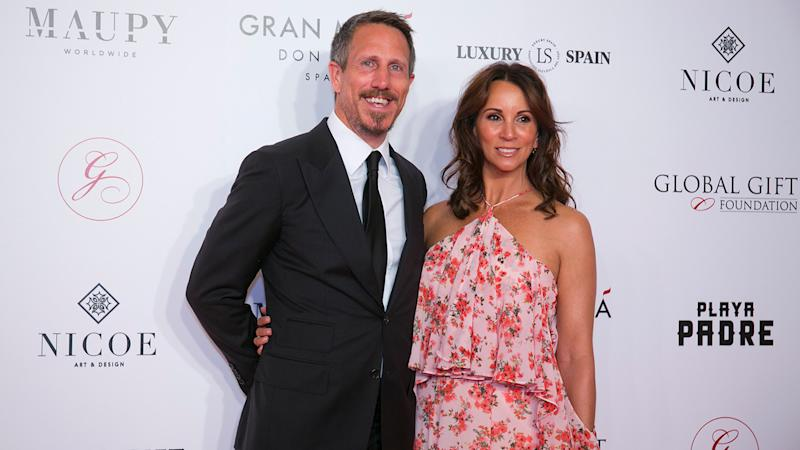 Andrea McLean and husband Nick Feeney have both had therapy together to help her recover from a breakdown (Image: Getty Image)