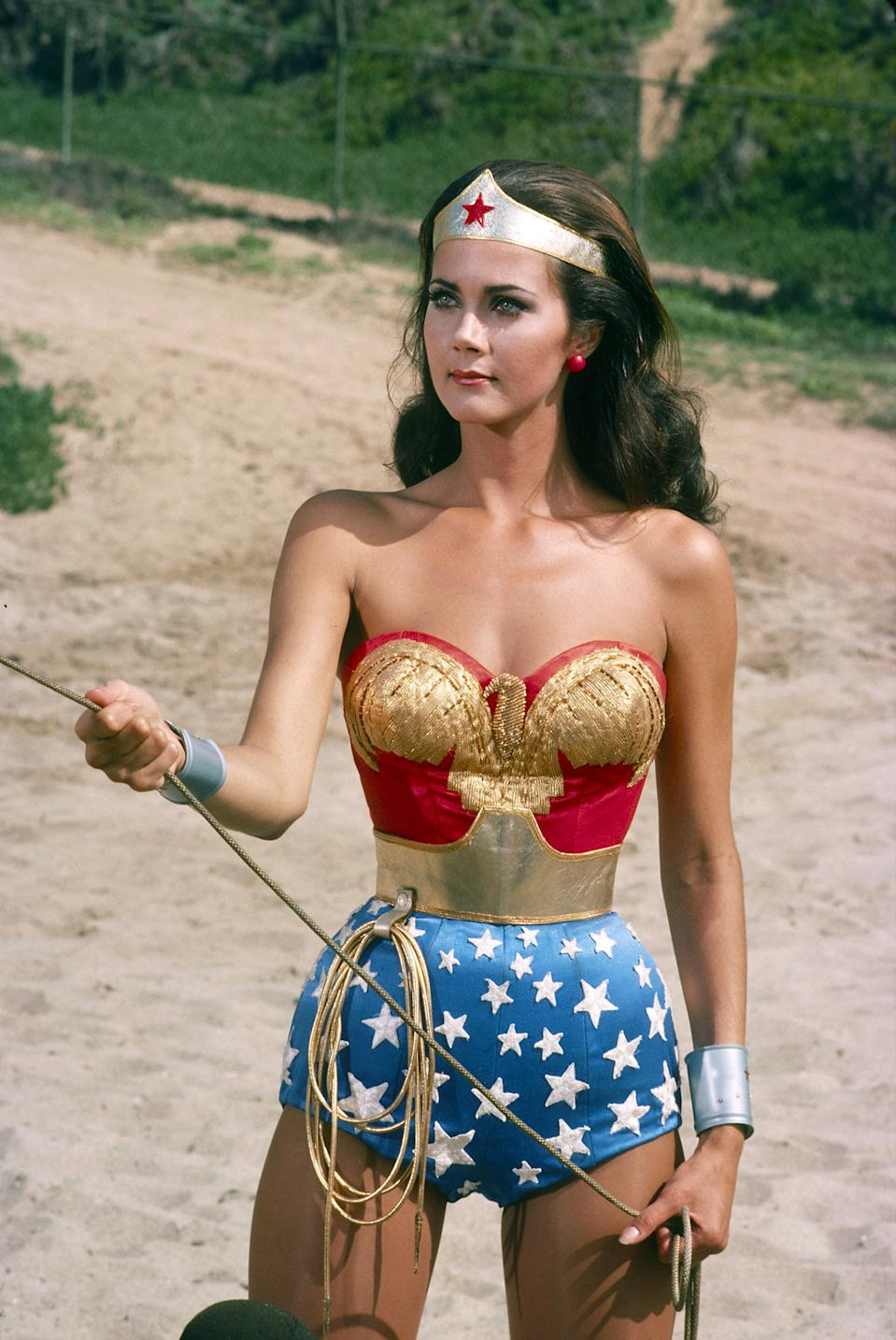 Lynda Carter como la 'Mujer Maravilla'. (Photo by Walt Disney Television via Getty Images Photo Archives/Walt Disney Television via Getty Images)