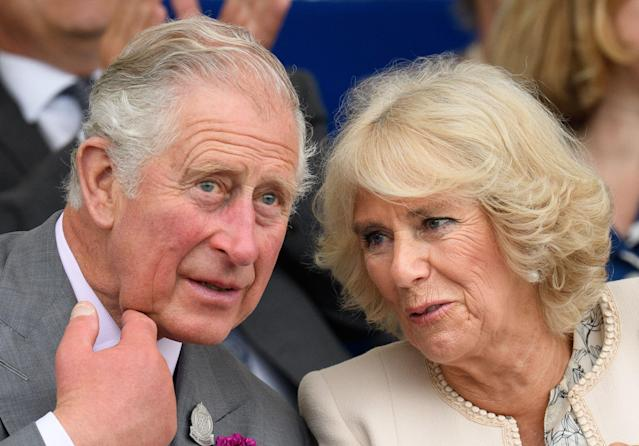 Charles, Prince of Wales, and Camilla, Duchess of Cornwall. (Photo: Getty Images)