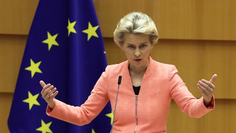 EU's von der Leyen unveils blueprint for recovery in 'state of the union' address