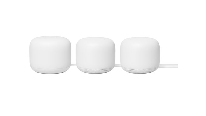 Google Nest WiFi 5 Router with 2 Points (Photo via Best Buy Canada)