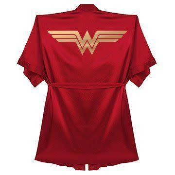 "<i>Buy it from <a href=""https://www.customizedgirl.com/design/3716040/Wonder+Woman+Bathrobe+Gift"" rel=""nofollow noopener"" target=""_blank"" data-ylk=""slk:Customized Girl"" class=""link rapid-noclick-resp"">Customized Girl</a>&nbsp;for&nbsp;$38.97.</i>"
