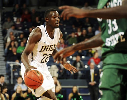 Notre Dame rolls past Chicago State 92-65