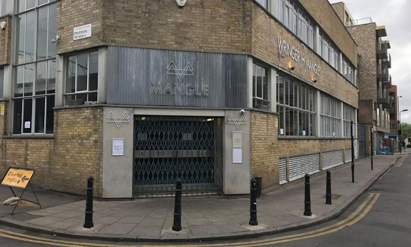 Mangle nightclub in Dalston, east London