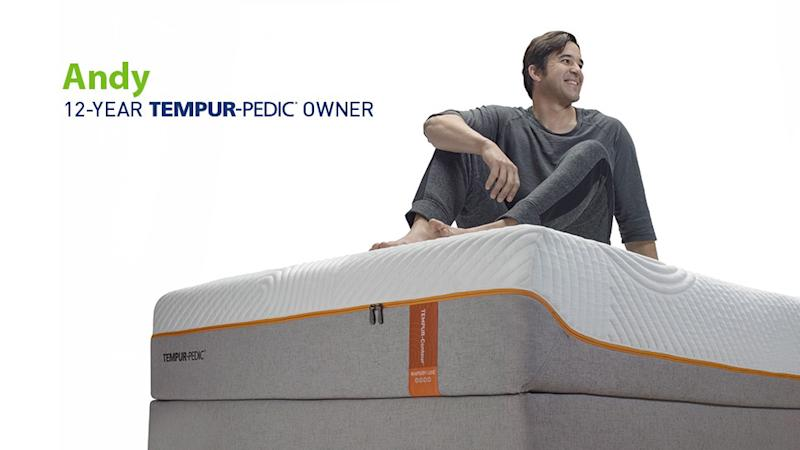 """Andy Stumpf, former Navy SEAL, one of several individuals featured in the brand's new campaign """"Tempur-Pedic Sleep Is Power,"""" attests to the significance of a Tempur-Pedic, 'As soon as I switched to a Tempur-Pedic mattress, I was finally able to find comfort and sleep through the night, which in turn completely transformed the way I was living my everyday life.'"""