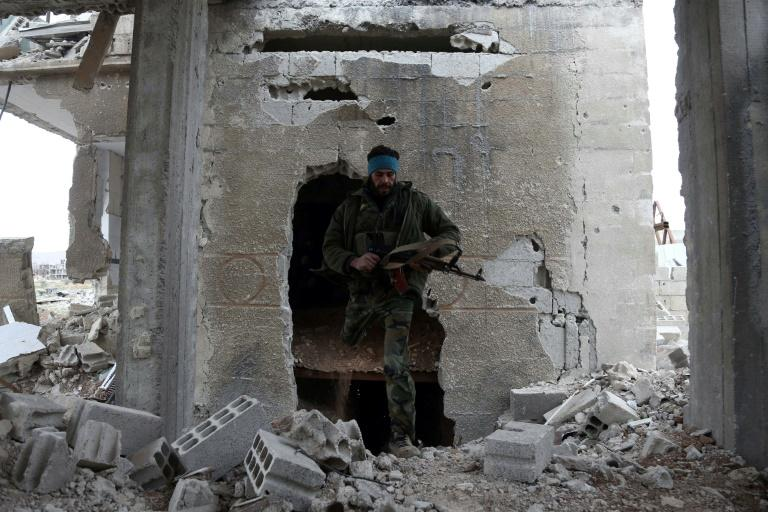 Fighting has raged near Damascus in recent weeks
