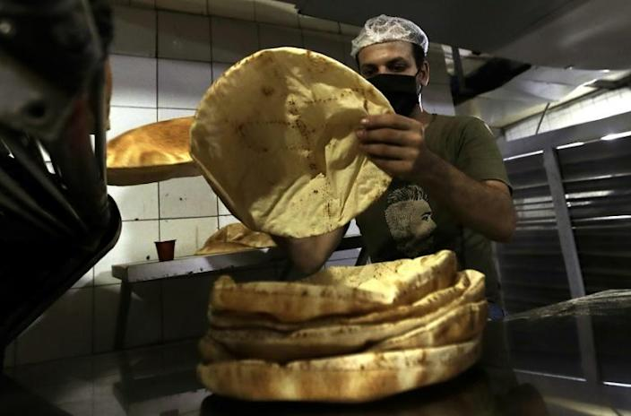 The flat bread is a must at every Lebanese meal