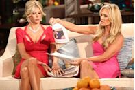 """<p>The Housewives do their homework to prepare for the reunions and often <a href=""""https://www.eonline.com/news/846560/real-housewives-reunions-101-5-things-you-need-to-know-to-survive"""" rel=""""nofollow noopener"""" target=""""_blank"""" data-ylk=""""slk:bring hard evidence to support their claims"""" class=""""link rapid-noclick-resp"""">bring hard evidence to support their claims</a>—whether it's text messages, emails, or even medical records.</p>"""