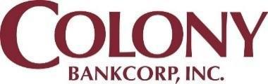 Colony Bankcorp Reports Second Quarter 2020 Results