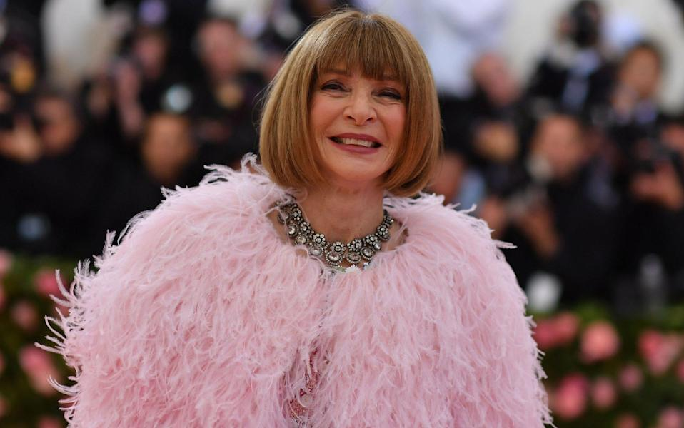 Anna Wintour has been editor-in-chief of Vogue since 1988 - GETTY IMAGES