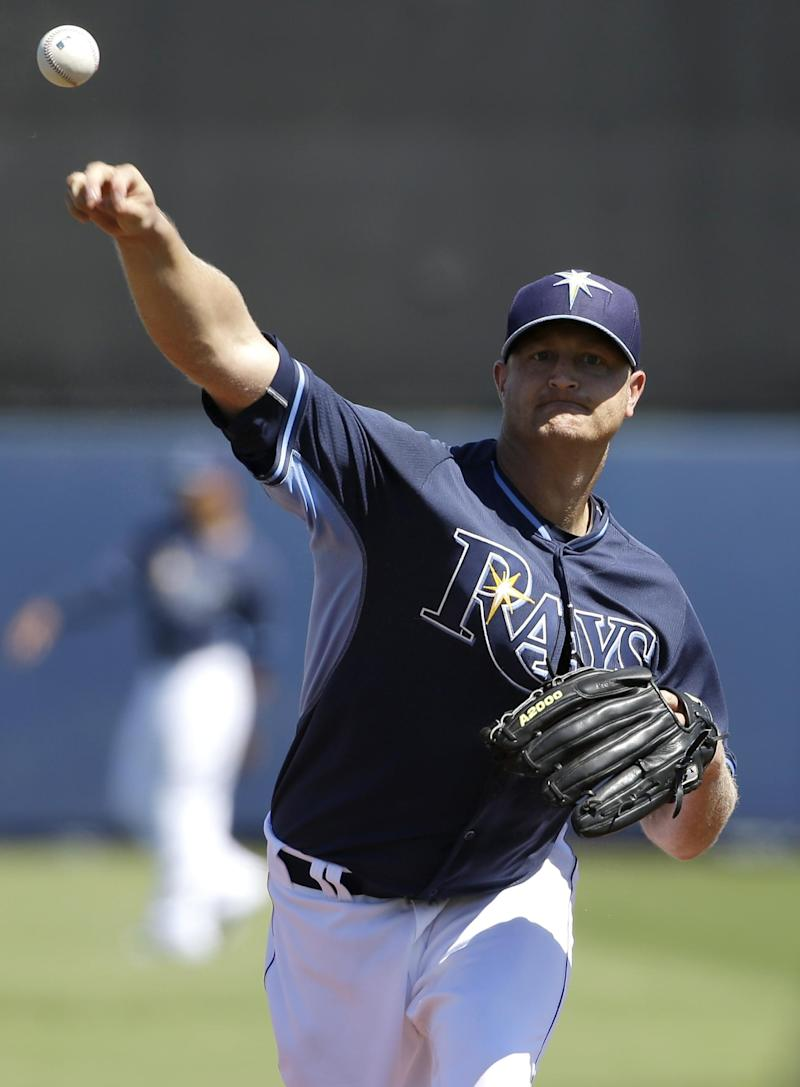 Longoria homers, Balfour perfect, Rays top Twins